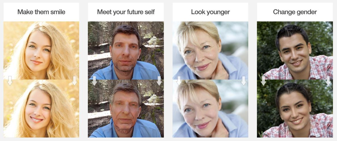 Photo gender morph
